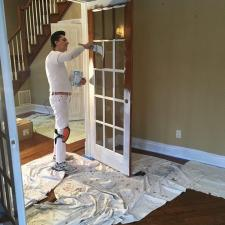Interior residential painting on longview ave in towaco nj 003