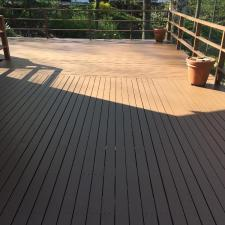 Residential exterior painting and deck staining on holly ln in boonton nj 005