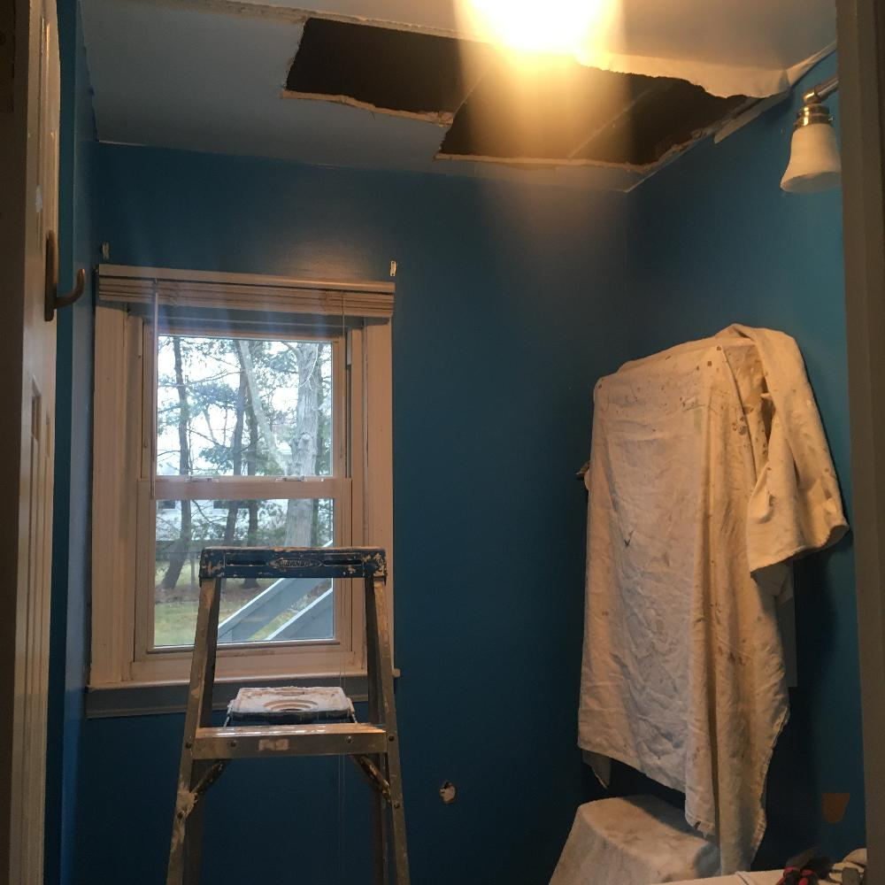 Interior Residential Painting, Removal of Wallpapering ...