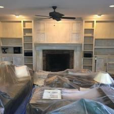Residential interior painting on 7 highview ct in montville nj 002